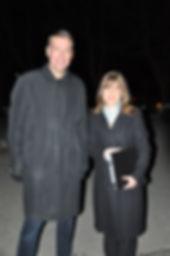 Mayor John Taylor and Laura Higgins Phot