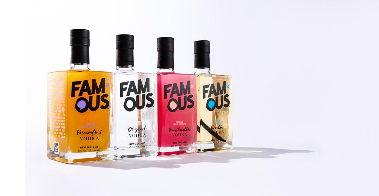 Famous Vodka New Zealand