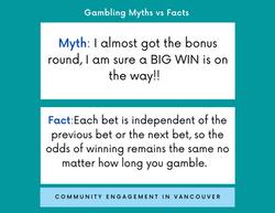 Wondering about gambling myths?