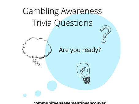 Gambling Awareness Trivia Questions