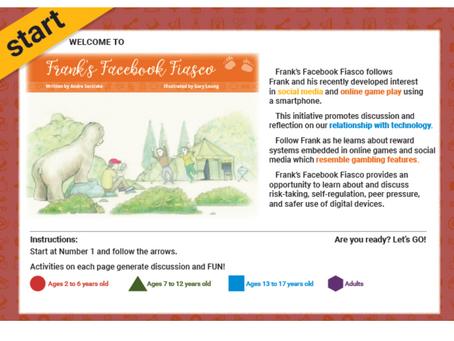 Frank's Facebook Fiasco: The StoryWalk® Experience