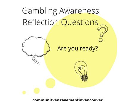Gambling Awareness Reflection Questions