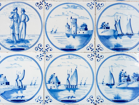 The History of Delft Tiles in Holland
