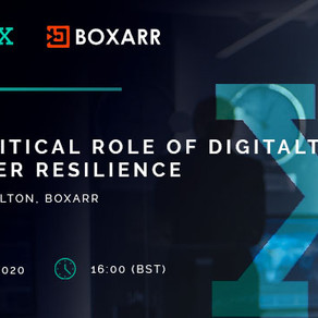 BOXARR's VP for Global Alliances, Fraser Hamilton,will be speaking at the Virtual Summit on 20th May