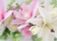 クレイフラワー の百合と薔薇と蘭