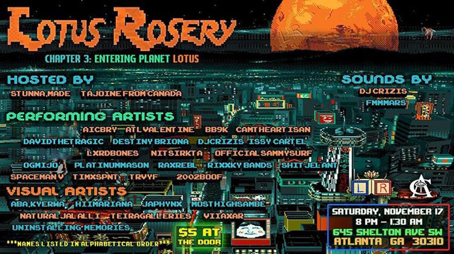 Lotus Rosery 3 - Entering Planet Lotus