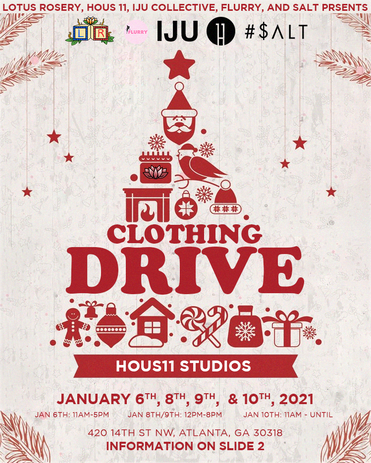 Lotus Rosery Clothing Drive 2021