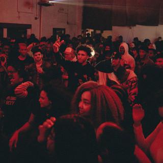 Crowd at Lotus Rosery - Underground Fest
