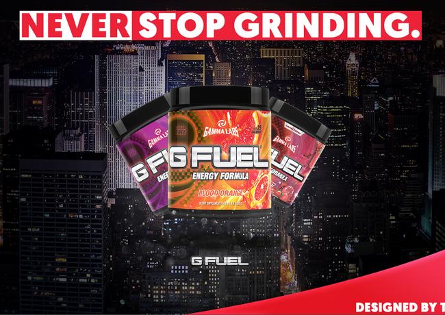 G-Fuel - Advertisement