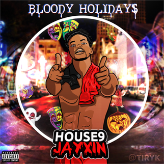 House9Jayxin - Bloody Holidays | Cover A