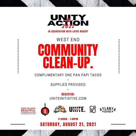 Unity In Action 2021 Community Clean Up
