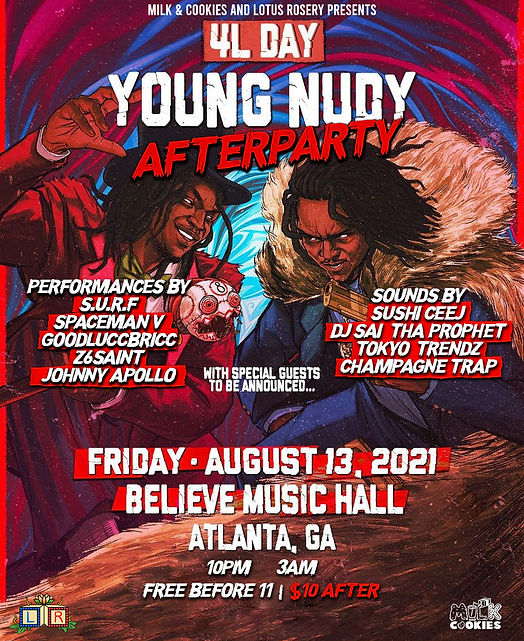 4L Day Young Nudy After Party