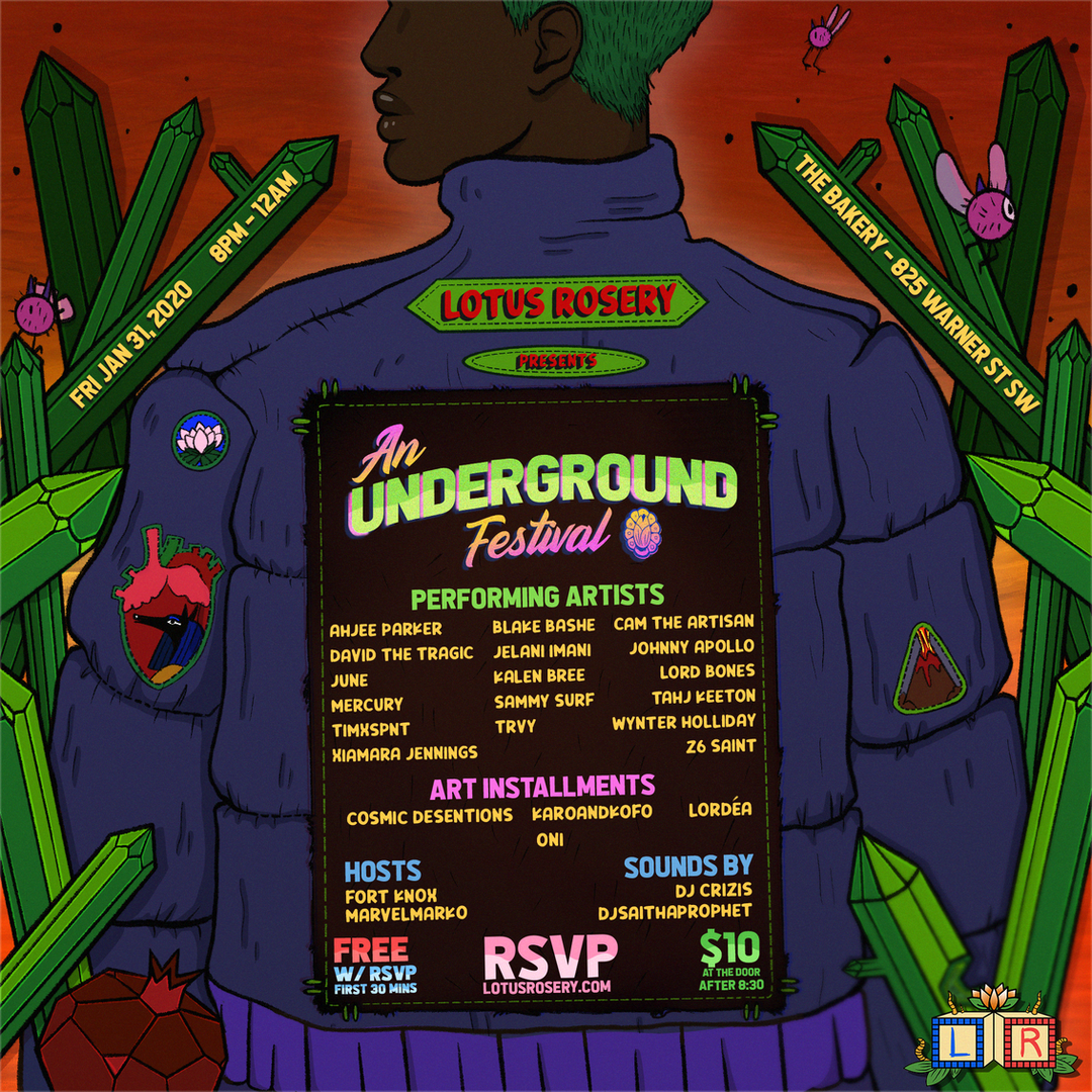 Lotus Rosery 6 - Underground Festival