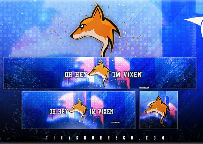 OhHeyImVixen - Branding