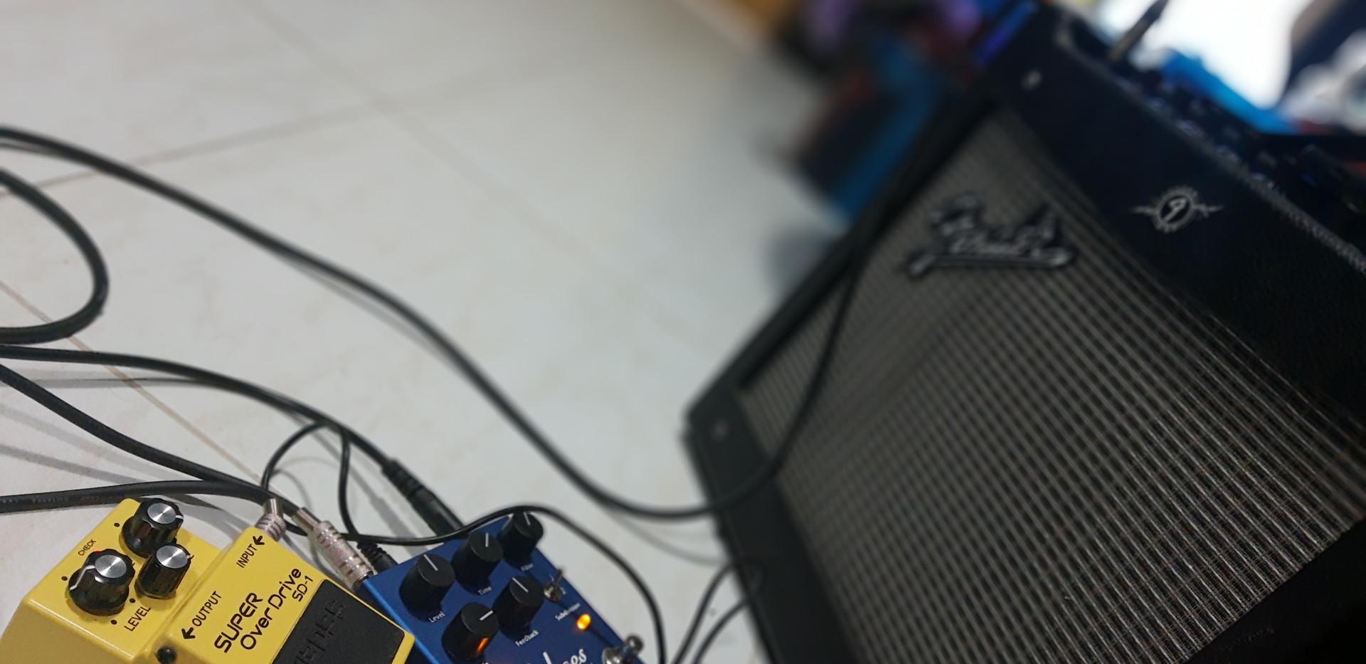 Pedais - Casa da Musika
