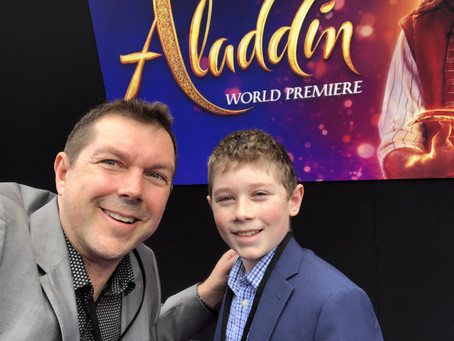 Aladdin Premiere Photos!