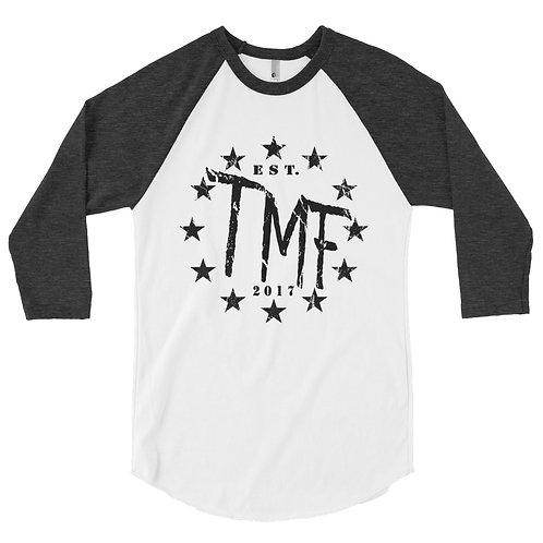 TMF 3/4 sleeve raglan shirt