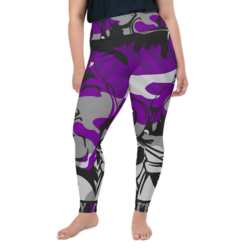 """""""BY ALL MEANS"""" Plus Size Leggings"""