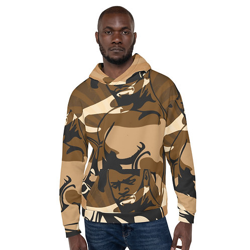 """""""By All Means"""" Desert Cameo Unisex Hoodie"""