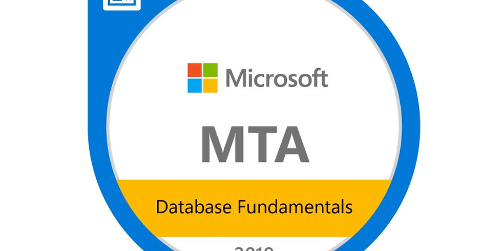 MTA 98-364: Database Fundamentals (SQL)