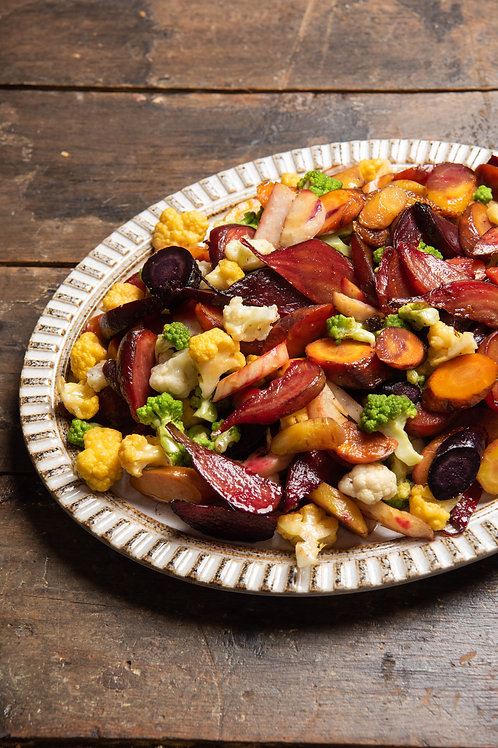 Roasted Vegetables and Apples