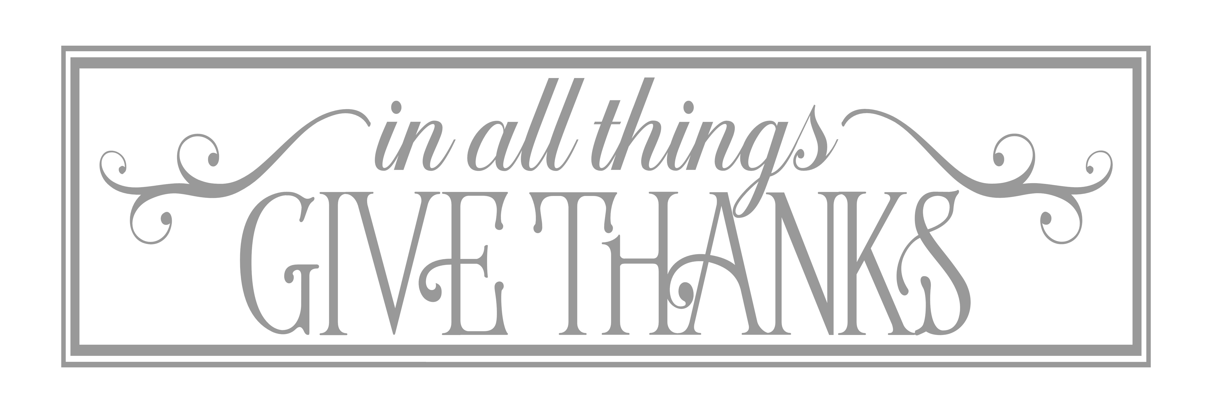 CB-In All Things Give THanks