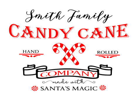 14x19 Personalized Candy Cane Company.jp