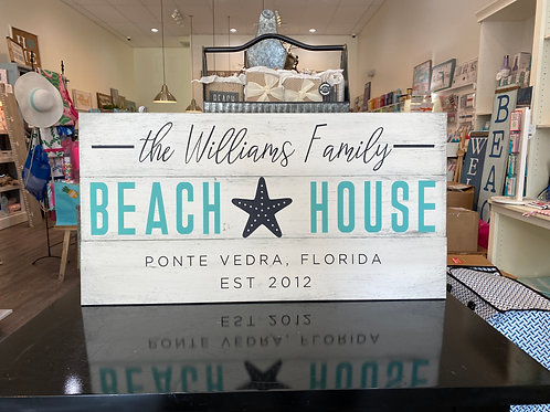 Personalized Beach House -Starfish Center