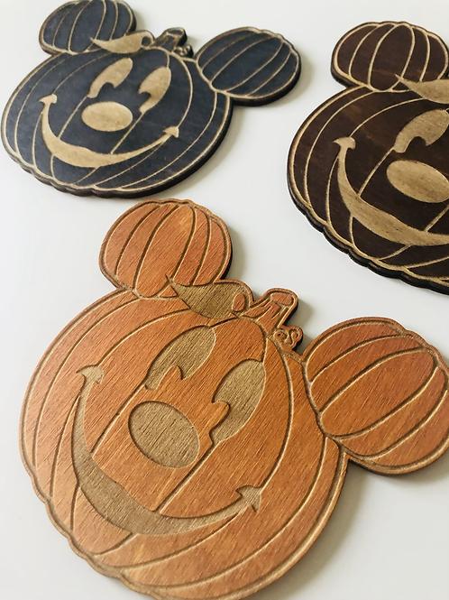 Pumpkin Coaster - 4 Pack