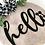 Thumbnail: Hello Mouse Sign 50cm Diameter
