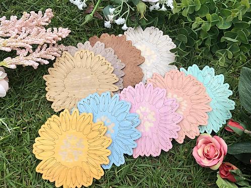 Sunflower Coaster - Individual
