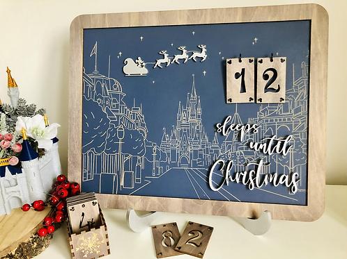 Christmas Countdown / Advent Sign