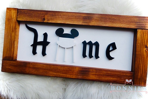 Water Tower Home Sign I Farmhouse Home Sign