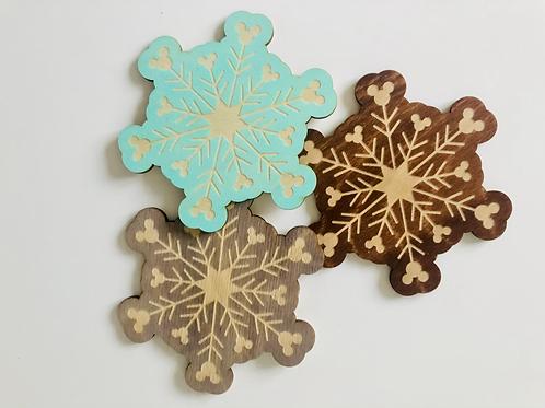Snowflake Coaster - 4 Pack