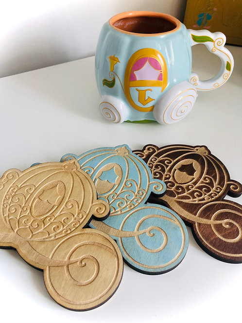Carriage Coaster - Multipack