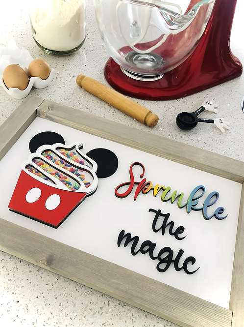 Sprinkle The Magic Sign