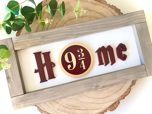 Wizzard Home Sign I Farmhouse Home Sign
