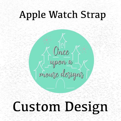Custom Design Watch Band (For Apple Watch)