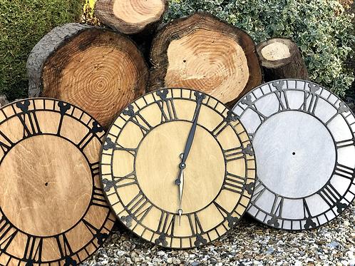 57cm Circle Mouse Detail Wall Clock