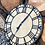 Thumbnail: 42cm Circle Mouse Detail Wall Clock