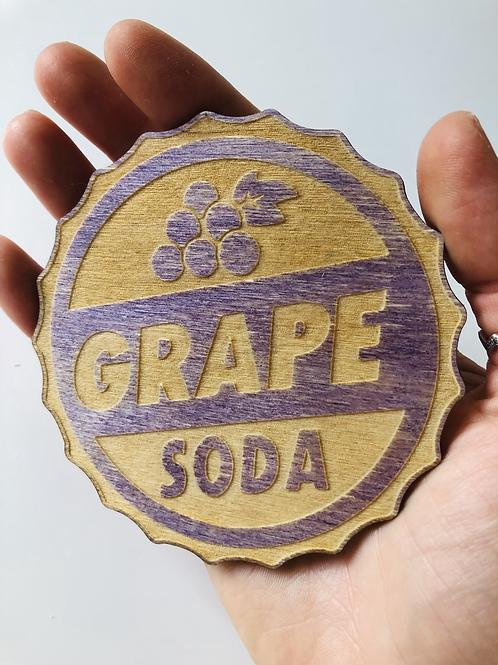 Grape Soda Coaster - Individual