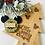 Thumbnail: 'Mouse' Wreath Hanging Decoration