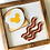 Thumbnail: Mouse Breakfast Sign -  Solid Wood