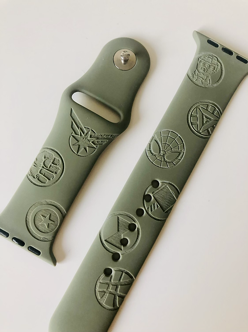 Hero's Design Watch Band (For Apple Watch)