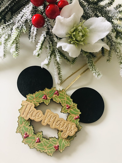 'Mouse' Wreath Hanging Decoration