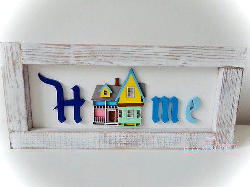 Up Home Sign I Farmhouse Home Sign