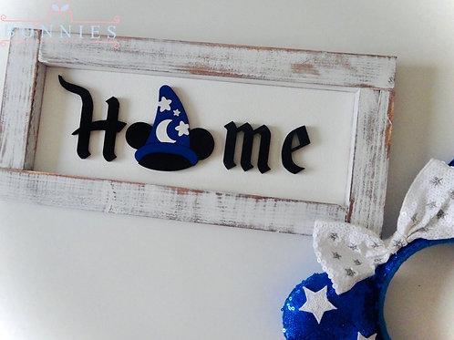 Sorcerer Hat Sign I Farmhouse Home Sign