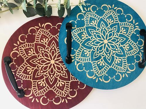 Circular Mandala Tray