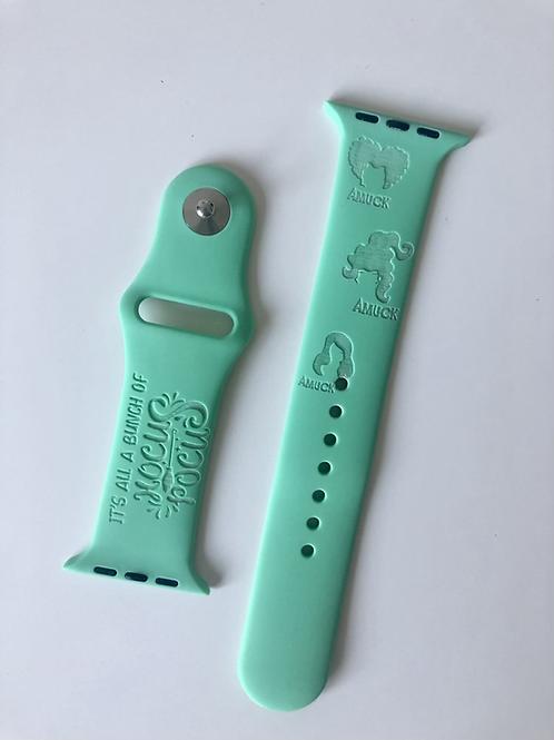 Hocus Halloween Design Watch Band (For Apple Watch)