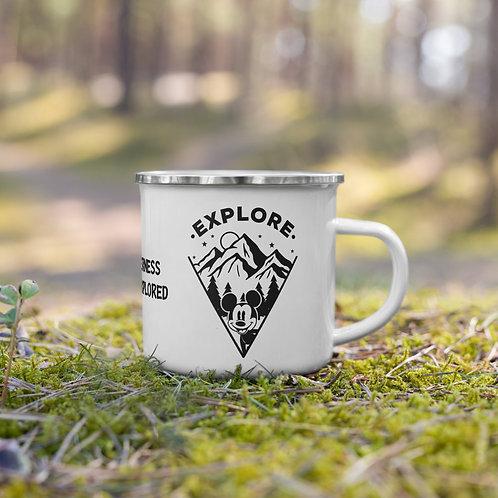 Explore Enamel Mug
